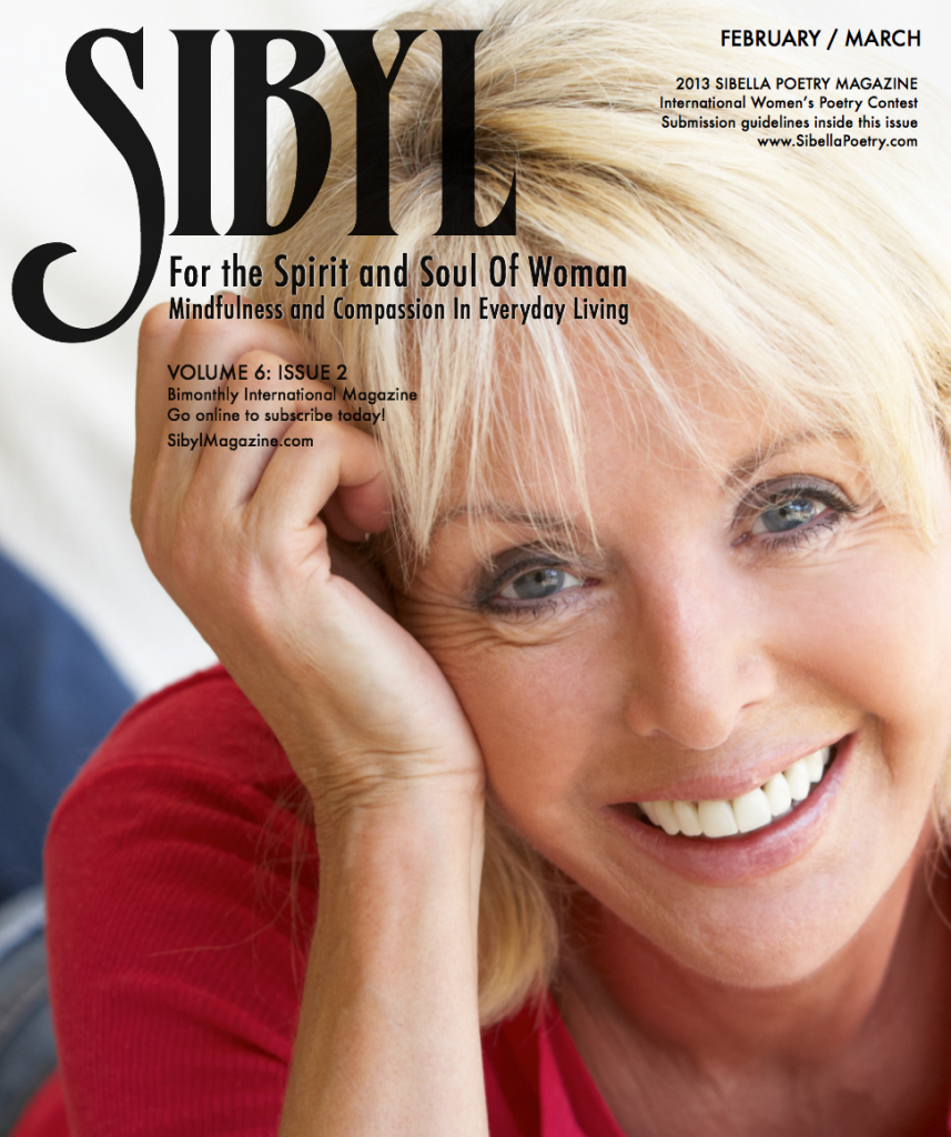 Feb/Mar 2013 Sibyl Issue Cover Photo