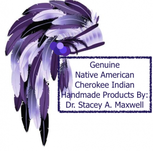 Native American with smudge border
