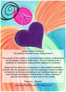 Website Medical Disclaimer