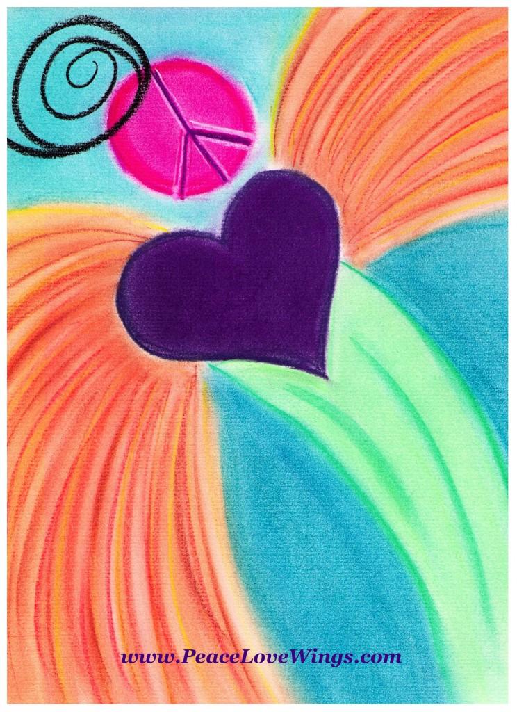 Peace Love Wings