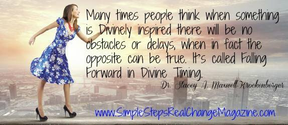 Falling Forward In Divine Timing