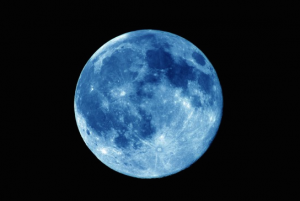 The Aquarius Blue Moon …