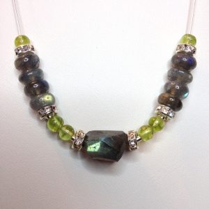 Labradorite Floating Necklace ~ (Sold Out!)