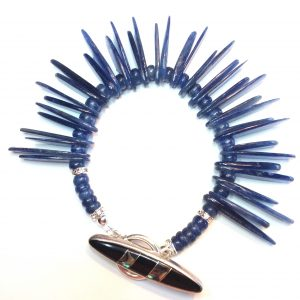 Kyanite Cherokee Tribal Bracelet