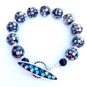 Abalone-Paua Shell Bracelet