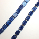 Kyanite with and without crystals