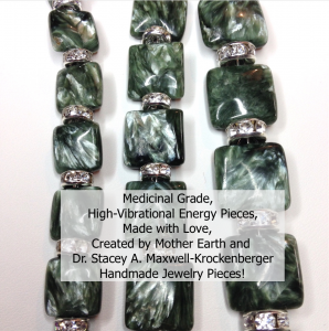 Medicinal Grade, Premium Quality, High-Vibrational Energy Chakra Jewelry