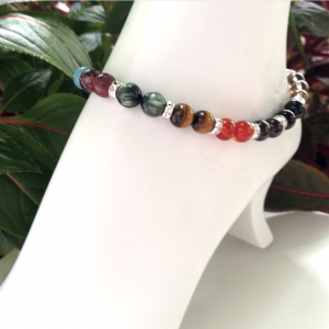 Medicinal Chakra Gemstones: Necklace, Bracelet, Anklet, Earrings, and Mermaid Barefoot Sandals …